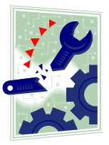 wrench in cogs creating a problem
