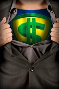 superhero who saves money